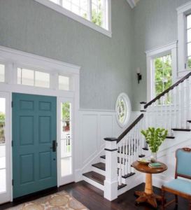 How To Paint Doors, Door Frames, Window Frames, and Baseboards