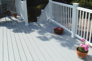 Paint Wooden Decks, Fences, and Latticework