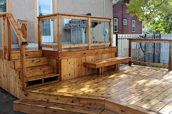 The-Urban-Painter-Calgary-Painter-Staining-Deck-And-Fence-1