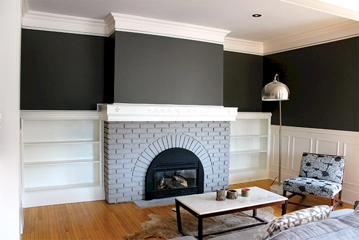 The-Urban-Painter-Calgary-Painting-Majestic-Fireplace-After